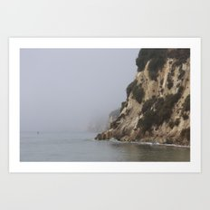 morning ocean Art Print