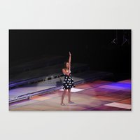 Glee Concert: Lea Michele Canvas Print
