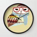 Snug Owl Wall Clock