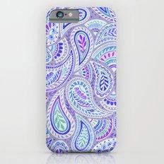 Purple Paisley iPhone 6 Slim Case