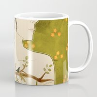 Carry The Flowers Out Mug