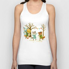 Critters: Spring Dancing Unisex Tank Top