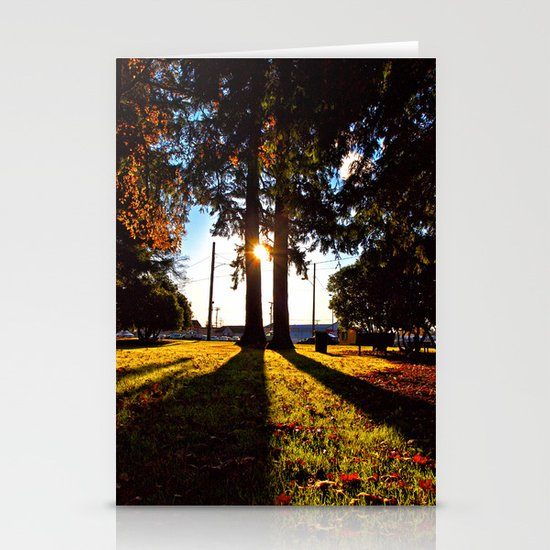 Autumn afternoon Stationery Card