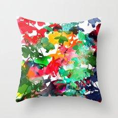 Cuíca Throw Pillow