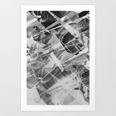 Marble X Art Print