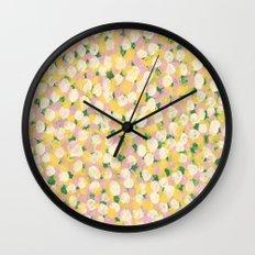 Spring Tea Party Wall Clock