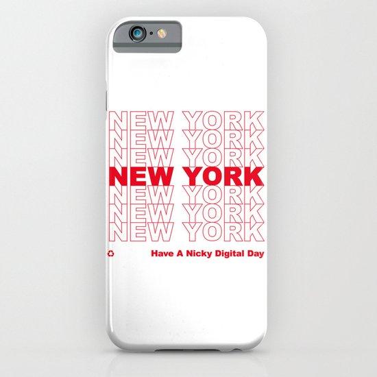 NEW YORK NEW YORK NEW YORK iPhone & iPod Case