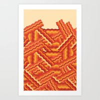 Nom nom nom Art Print