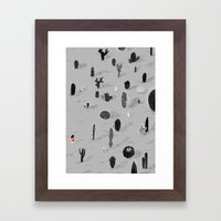 Cactarium Framed Art Print