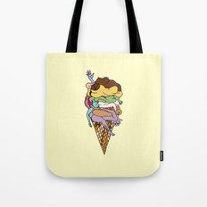 Human Ice Cream Tote Bag