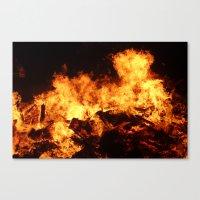 Easingwold Bonfire (16) Canvas Print
