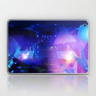 Abstract Purple Triangle… Laptop & iPad Skin