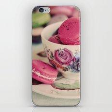 Macarons & Tea iPhone & iPod Skin