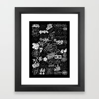 Robu.Co Type Lettering Framed Art Print