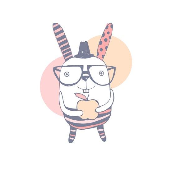 Mr.Rabbit Art Print