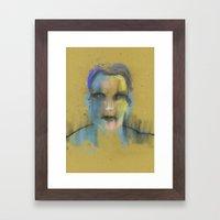 ISee You Framed Art Print