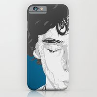 iPhone & iPod Case featuring Sherlock Close-Up by Inque