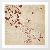 Japanese Print Art Print