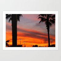 Florida|Sky. Art Print