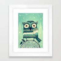 Boohoo! Framed Art Print