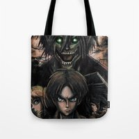 Attack On Titan  Shingek… Tote Bag