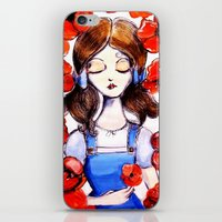 Poppies Will Put Her To … iPhone & iPod Skin