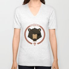 Mr. Bear Unisex V-Neck