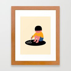 Peace Please Framed Art Print