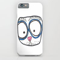 Blue Glasses iPhone 6 Slim Case