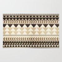 Woodwork Pattern Rug