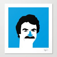 Thomas Magnum  Canvas Print