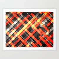 Weave Pattern Art Print