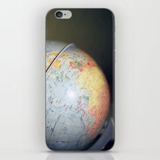 Vintage Globe iPhone & iPod Skin