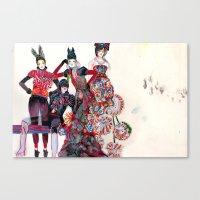 Girls Canvas Print