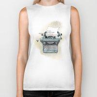 I Will Love.  Biker Tank