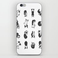 Sleeping Boogie iPhone & iPod Skin
