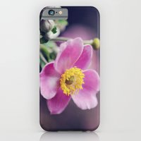 Pretty Pink flower iPhone 6 Slim Case