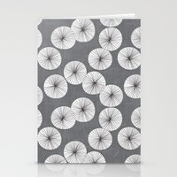 Umbrellas by Friztin Stationery Cards