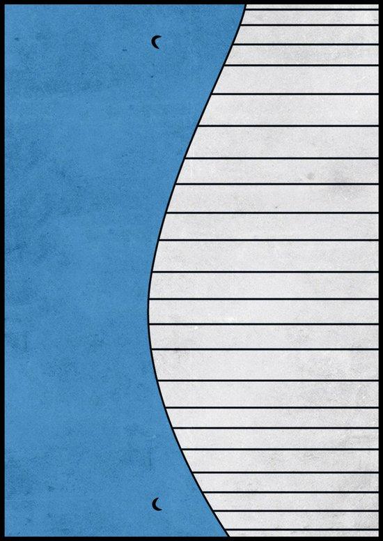 #321 Wailord - Pokemon Poster Minimalistic Design Art Print