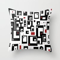 Pattern Party Throw Pillow