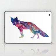 Cosmic Fox Laptop & iPad Skin