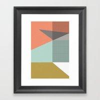 Farbe//Eight Framed Art Print