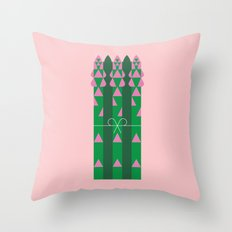 Vegetable: Asparagus Throw Pillow