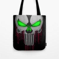 Punisher Spawn Mash-Up Tote Bag