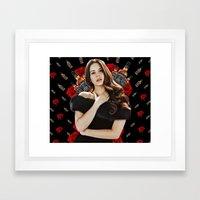 LANA + JACK Framed Art Print