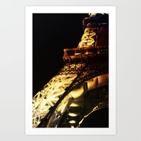 Paris Lights 2 Art Print