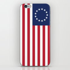 Betsy Ross flag - Authentic color and scale iPhone & iPod Skin