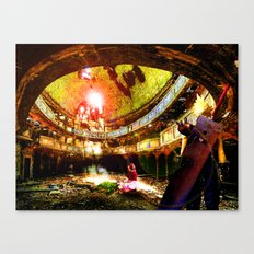 The Flower Girl - Final Fantasy VII Canvas Print