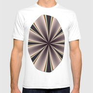 Fractal Pinch In BMAP02 Mens Fitted Tee White SMALL