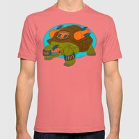 Tortoise Mens Fitted Tee Pomegranate SMALL